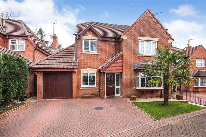 4 Bedrooms Detached House for sale in Hollyhurst Drive, Wordsley, Stourbridge, West Midlands, DY8