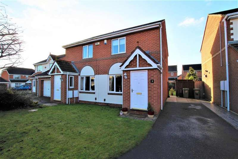 2 Bedrooms Semi Detached House for sale in Talisman Close, Eaglescliffe, Stockton-On-Tees