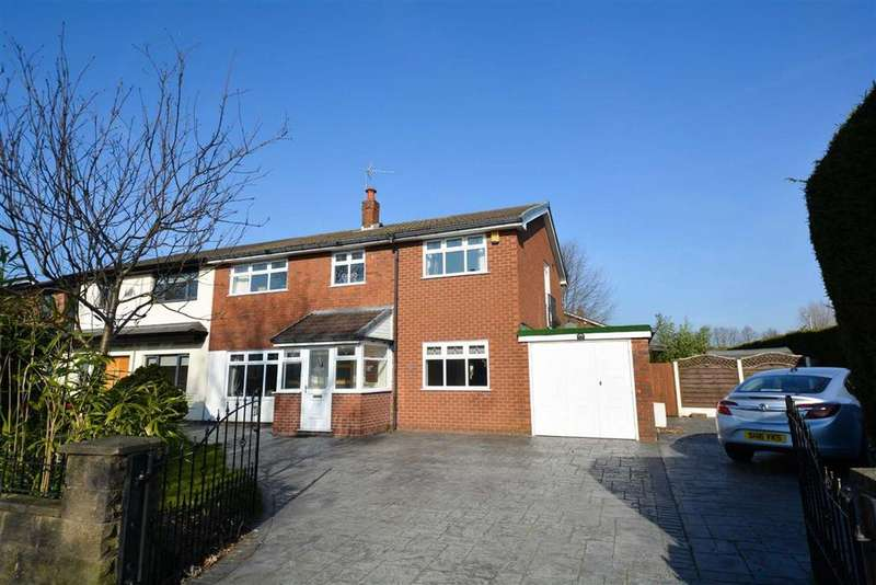 4 Bedrooms Semi Detached House for sale in Spencer Road, Whitley, Wigan, WN1