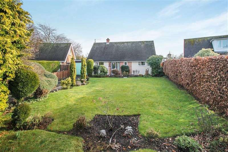 3 Bedrooms Detached Bungalow for sale in Steventon Gardens, Ludlow