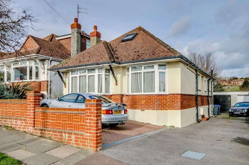4 Bedrooms Detached Bungalow for sale in Overhill, Southwick, Brighton
