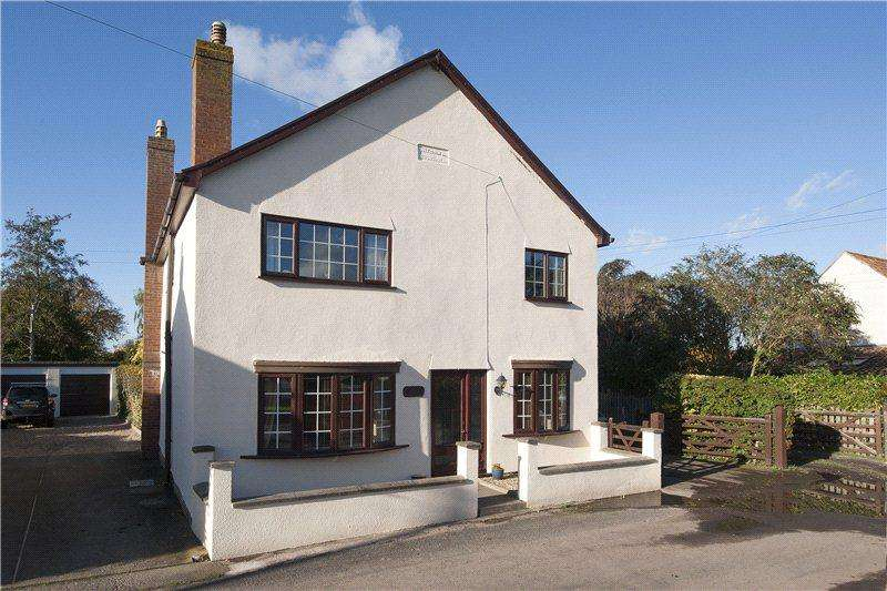 4 Bedrooms Detached House for sale in Moorland, Bridgwater, Somerset