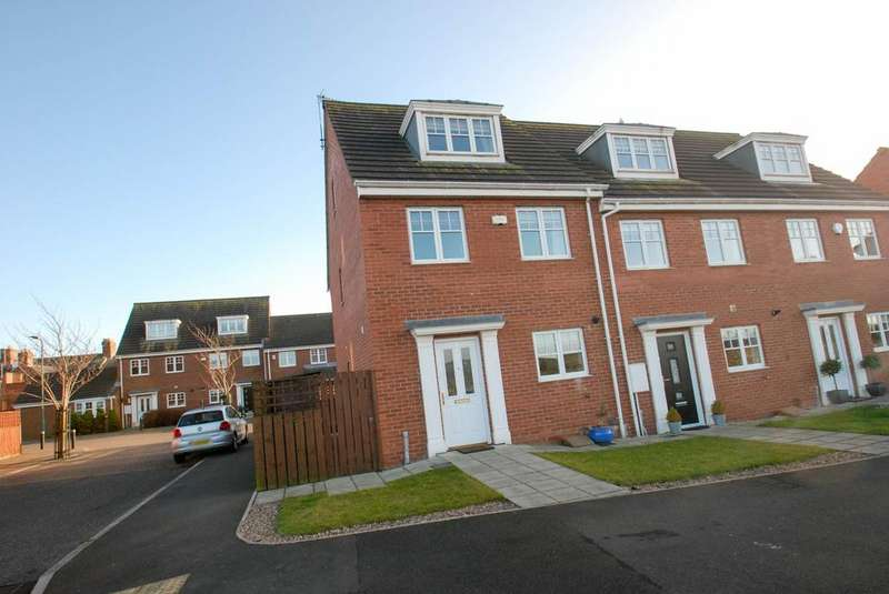 3 Bedrooms Semi Detached House for sale in County Mews, South Shields