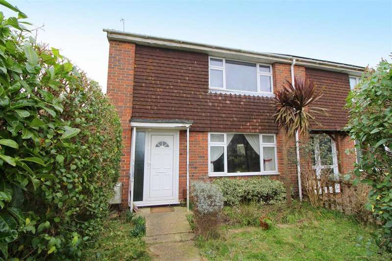 2 Bedrooms End Of Terrace House for sale in Mckerchar Close, Lancing