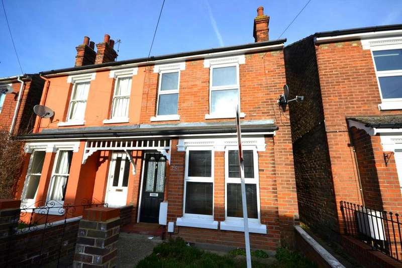 3 Bedrooms Semi Detached House for rent in Constantine Road, Colchester, Essex, CO3