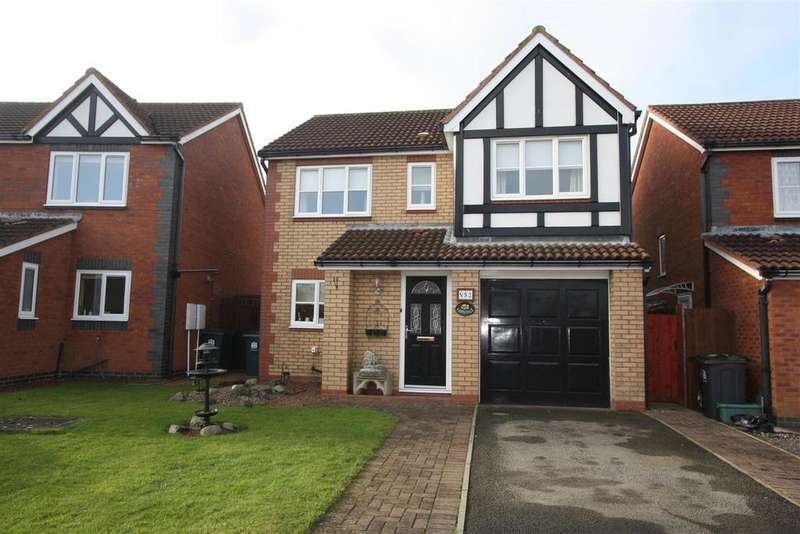 4 Bedrooms Detached House for sale in Heathfield Park, Middleton St. George, Darlington