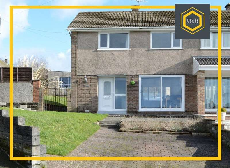 3 Bedrooms Semi Detached House for sale in Brynheulog, Llanelli, SA14