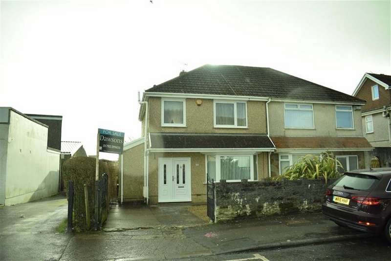 3 Bedrooms Semi Detached House for sale in Graiglwyd Road, Cockett