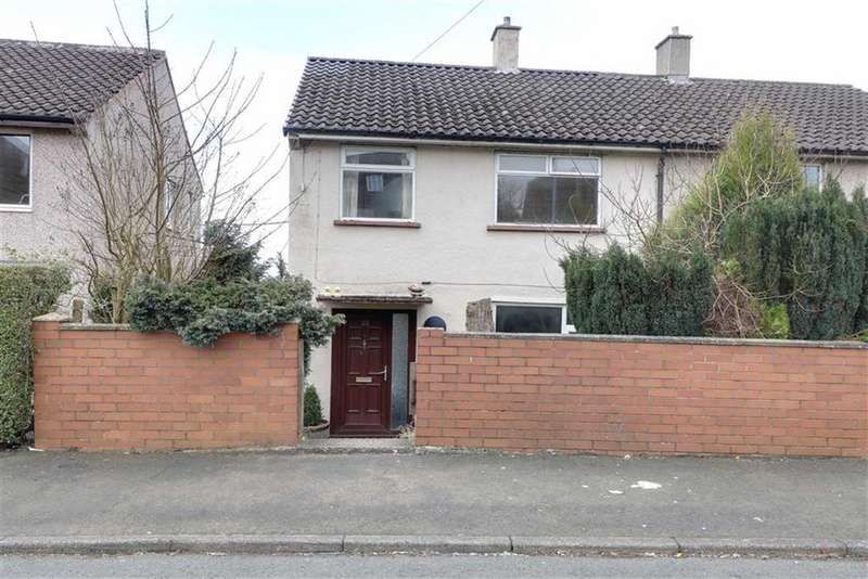 3 Bedrooms Semi Detached House for sale in Tunbridge Drive, Silverdale, Newcastle-under-Lyme