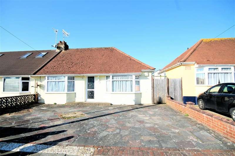 2 Bedrooms Semi Detached Bungalow for sale in Berriedale Drive, Sompting