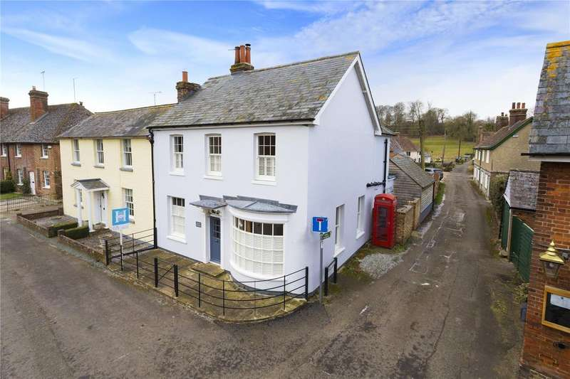 4 Bedrooms Semi Detached House for sale in The Street, Bishopsbourne, Canterbury, Kent