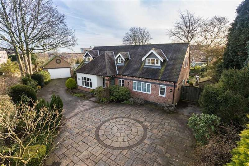 4 Bedrooms Detached House for sale in Lyme Grove, Altrincham, Cheshire, WA14