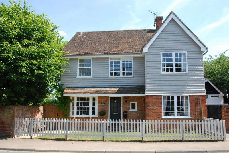 4 Bedrooms Detached House for sale in High Street, Barkway, Royston, SG8 8ED