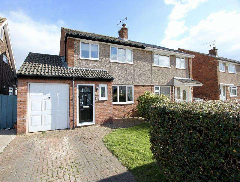 3 Bedrooms Semi Detached House for sale in Windermere Drive, Prestatyn