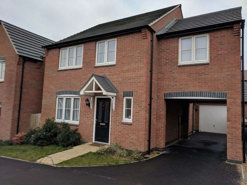 4 Bedrooms Property for sale in Scarborough Close, Grantham