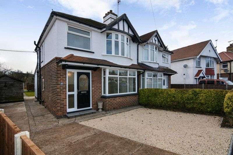 3 Bedrooms Property for sale in Grasmere Crescent, Derby