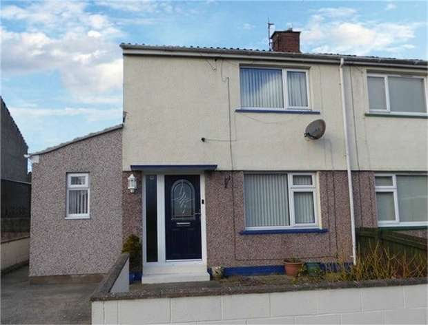 2 Bedrooms Semi Detached House for sale in Abbey Close, Workington, Cumbria