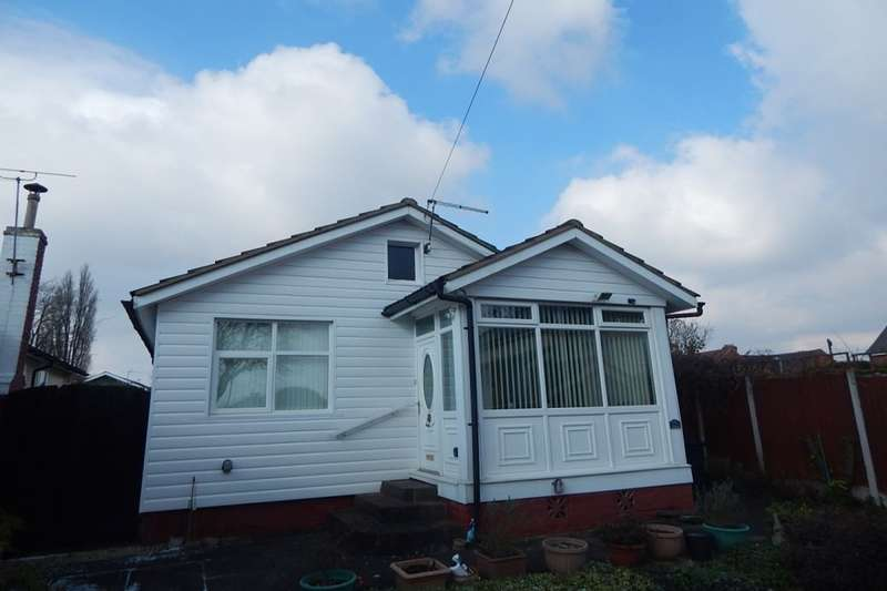 2 Bedrooms Detached Bungalow for sale in Hawkesley Drive, Northfield, Birmingham, B31