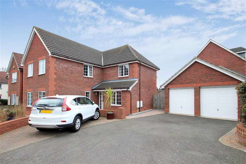 5 Bedrooms Detached House for sale in Terry Gardens, Grange Farm, Kesgrave, Ipswich