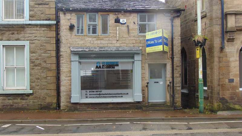2 Bedrooms Commercial Property for sale in Market Street, Bacup, Rossendale