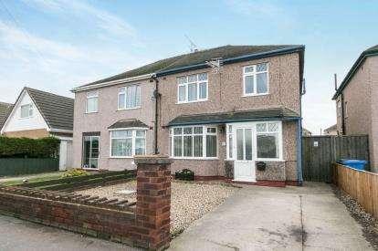 3 Bedrooms Semi Detached House for sale in Tynewydd Road, Rhyl, Denbighshire, LL18