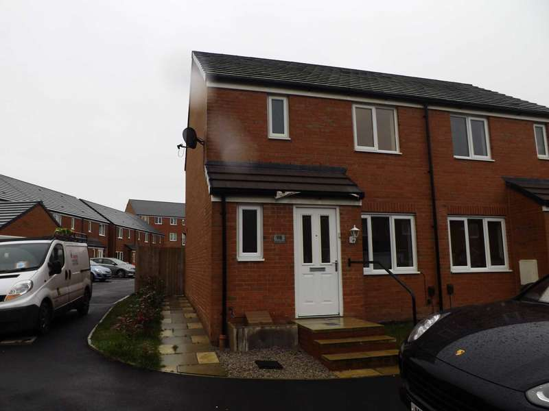 3 Bedrooms Semi Detached House for rent in Harrier Close, Lostock