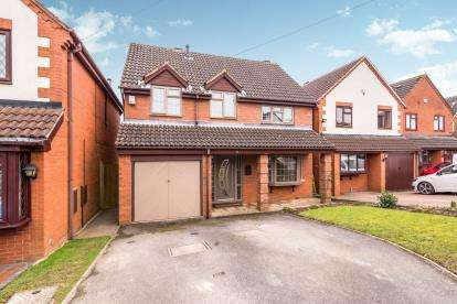 4 Bedrooms Detached House for sale in Old Lindens Close, Streetly, Sutton Coldfield, West Midlands