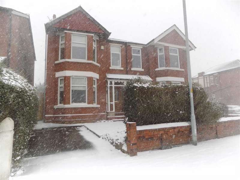4 Bedrooms Semi Detached House for sale in Reddish Road, Stockport