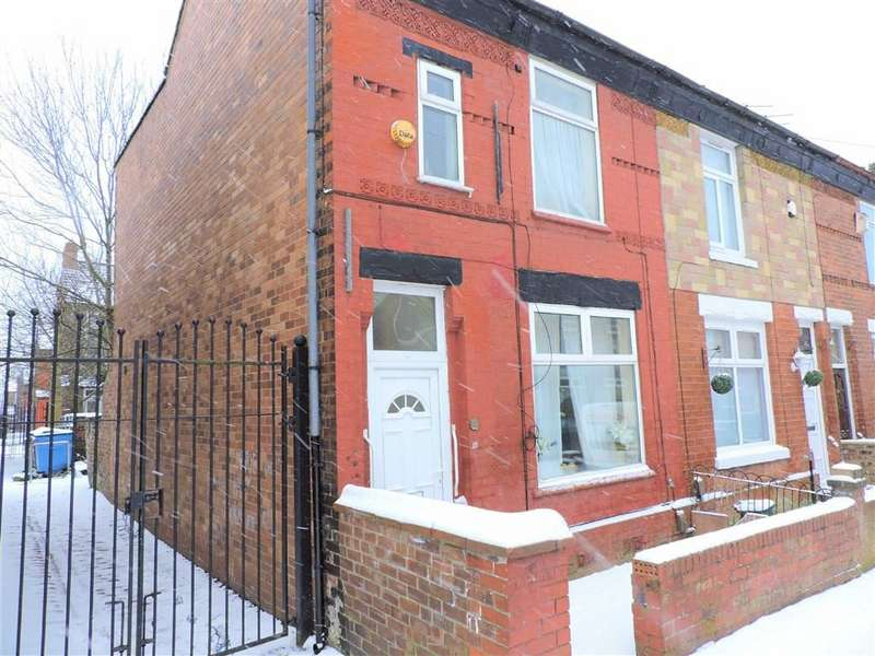 3 Bedrooms End Of Terrace House for sale in Guildford Road, Manchester