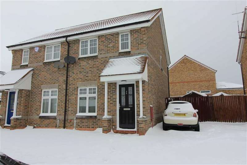 2 Bedrooms Semi Detached House for sale in Penyghent Way, Mayfield, Washington