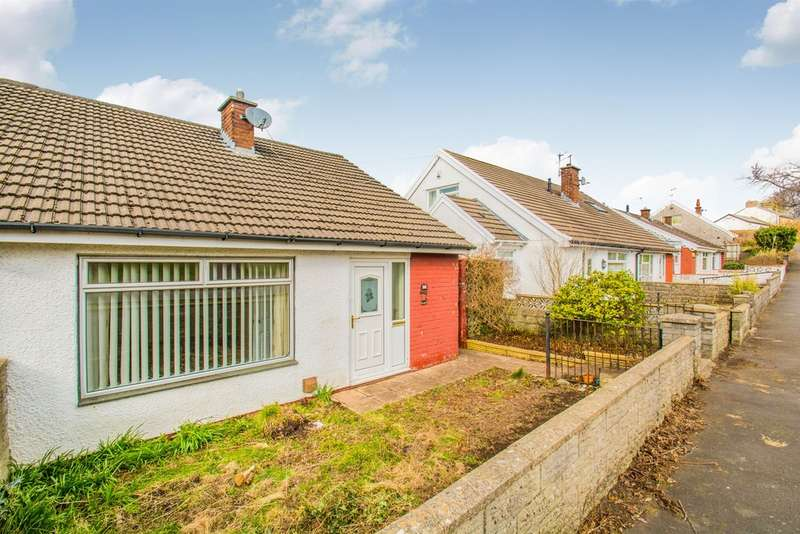 2 Bedrooms Semi Detached Bungalow for sale in Shirdale Close, Maesycwmmer, Hengoed