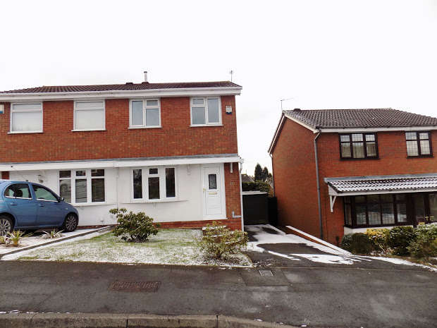 2 Bedrooms Semi Detached House for sale in Aintree Way, Dudley, DY1