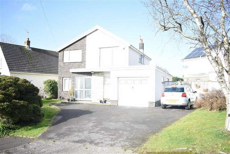 4 Bedrooms Detached House for sale in Long Shepherds Drive, Caswell, Swansea