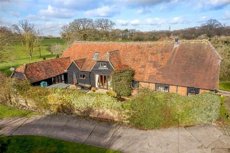 5 Bedrooms Detached House for sale in Wedmans Lane, Rotherwick, Hook, Hampshire