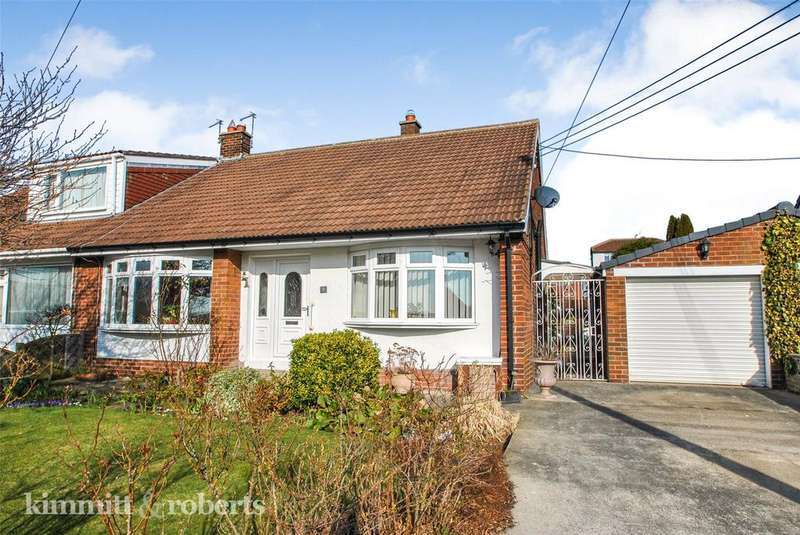 2 Bedrooms Semi Detached Bungalow for sale in Seaton Grove, Seaham, Co. Durham, SR7