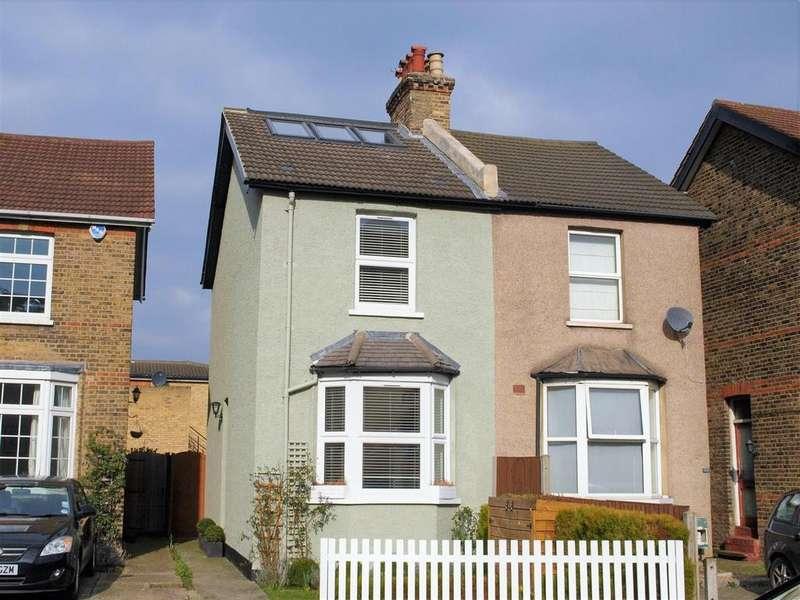 3 Bedrooms Semi Detached House for sale in Beckenham Lane, Shortlands, BR2