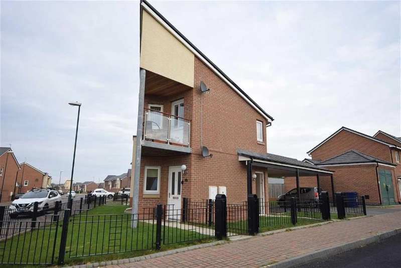 2 Bedrooms Flat for rent in Cherry Tree Walk, South Shields