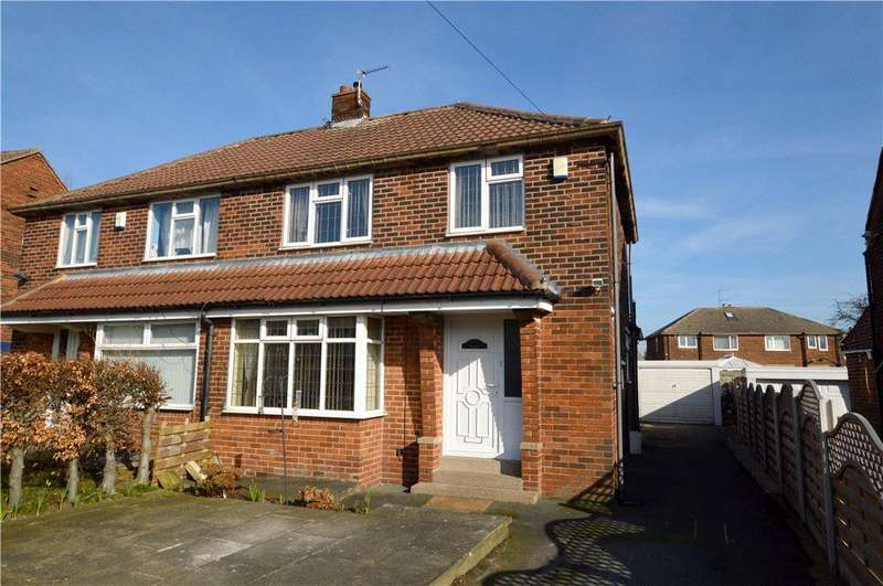 4 Bedrooms Semi Detached House for sale in Peckover Drive, Pudsey, West Yorkshire