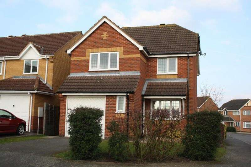 3 Bedrooms Detached House for rent in Mildmay Close, Melton Mowbray