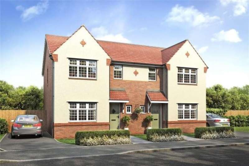 3 Bedrooms Semi Detached House for sale in The Thatch Lancaster New Road, Garstang, Preston, PR3