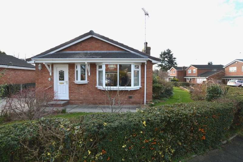 2 Bedrooms Detached Bungalow for sale in Tewkesbury Close, Middlewich, CW10