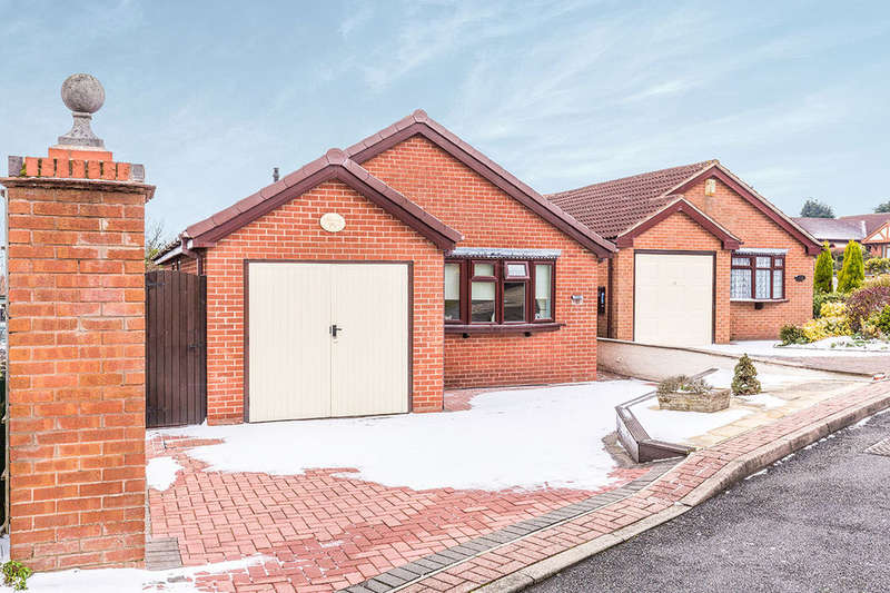 3 Bedrooms Detached Bungalow for sale in Grange Road, Newhall, Swadlincote, DE11