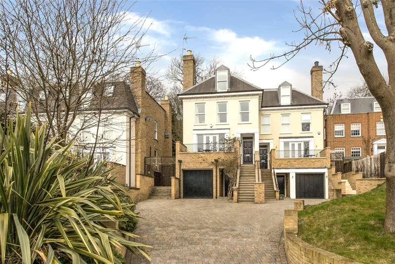 4 Bedrooms Semi Detached House for sale in Cottenham Park Road, Wimbledon,, London,, SW20