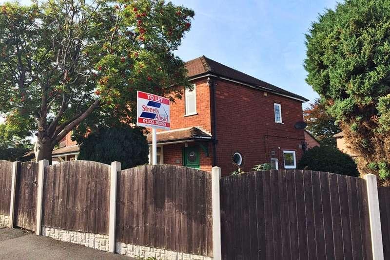 3 Bedrooms Semi Detached House for rent in Elms Avenue, Littleover