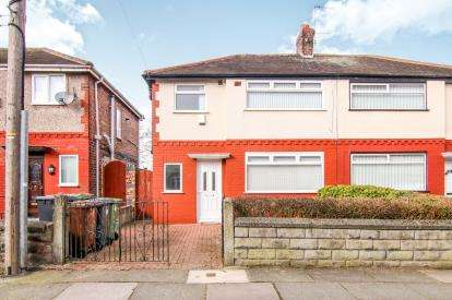 3 Bedrooms Semi Detached House for sale in Abbeystead Avenue, Bootle, Liverpool, Merseyside, L30