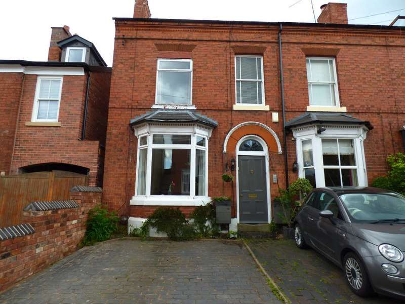 3 Bedrooms Semi Detached House for rent in Serpentine Road, Harborne, West Midlands, B17 9RE
