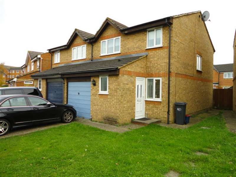 3 Bedrooms Semi Detached House for sale in Burket Close, Southall, Middlesex, UB25NR