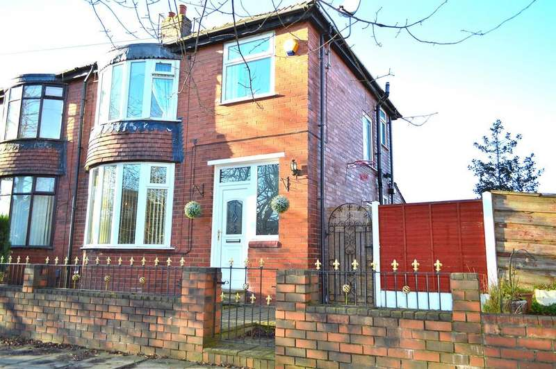 3 Bedrooms Semi Detached House for sale in Broadway, Chadderton, Oldham, OL9 9JH