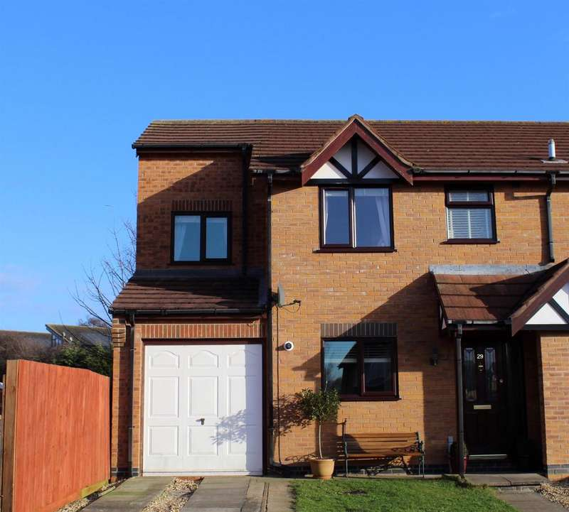 4 Bedrooms Semi Detached House for sale in Shamfields Road, Spilsby, Lincolnshire, PE23 5NN