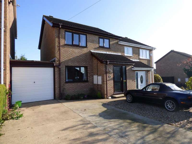 3 Bedrooms Semi Detached House for sale in Southfield Drive, Louth